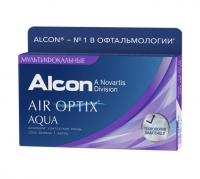 Контактные линзы AIR Optix AQUA, 6 шт.